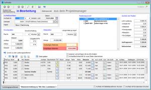 CP-Pro Faktura Aufmasserfassung