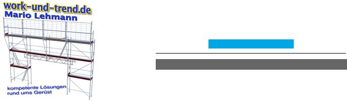 Work & Trend | Gerüstbausoftware Logo